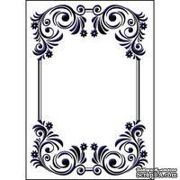 Папка для тиснения Crafts Too Embossing Folders - Floral Frame