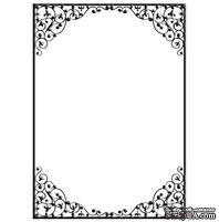 Папка для тиснения Crafts Too - Embossing Folder - Danity Frame