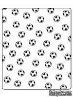 Папка для тиснения Crafts Too Embossing Folder - Soccer Balls
