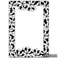 Папка для тиснения Crafts Too Embossing Folder - Poinsettia Frame