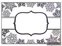 Папка для тиснения Crafts Too Embossing Folders - SnowFlake Banner
