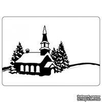 Папка для тиснения Crafts Too Embossing Folder - Winter Village