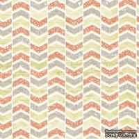 Лист скрапбумаги от Lemon Owl - Cozy Winter, Up and down, 30x30 см, 403104