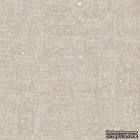 Лист скрапбумаги от Lemon Owl - Cozy Winter, Funny font, 30x30 см, 403106
