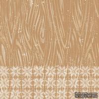 Лист скрапбумаги от Lemon Owl - Cozy Winter, Pine tree, 30x30 см, 403107