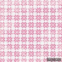 Лист скрапбумаги от Lemon Owl - Cozy Winter, Mittens, 30x30 см, 403108