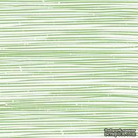 Лист скрапбумаги от Lemon Owl - Cozy Winter, Pinecone pot, 30x30 см, 403109