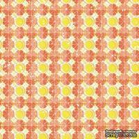 Лист скрапбумаги от Lemon Owl - Cozy Winter, Mulled wine, 30x30 см, 403112