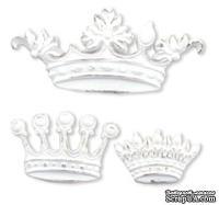 Набор  украшений-коронок Her Majesty Applique Set от Melissa Frances, 3 шт.