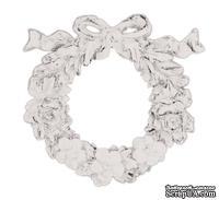 Гипсовое украшение от Melissa Frances - Resin Wreath Applique