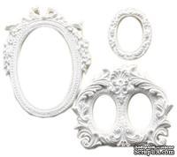 Гипсовое украшение от Melissa Frances - Oval Frames - Овальные рамки