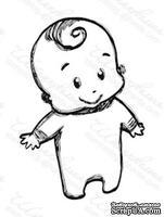 Акриловый штамп D012 Ребенок, размер 4 * 5,8 см