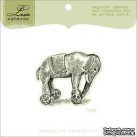 Акриловый штамп Lesia Zgharda D034 Слоненок, размер 4,7х3,9 см.