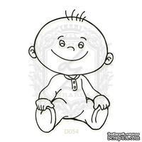 Акриловый штамп Lesia Zgharda D054 Маленький мальчик