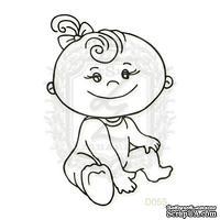 Акриловый штамп Lesia Zgharda Ребенок D055, размер 3,8х5,8 см