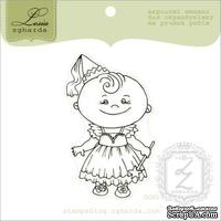 Акриловый штамп Lesia Zgharda D063 Девочка-фея, размер 5х6,5 см.