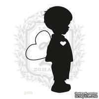 Акриловый штамп Lesia Zgharda D079 Мальчик с сердечком