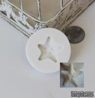 Силиконовая форма (молд) - Морская звезда, размер: 35 мм