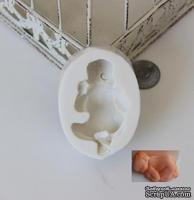 Силиконовая форма (молд) - Новорожденный малыш, размер: 6.3х3.8х1.9 см