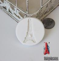 Силиконовая форма (молд) - Эйфелева башня, размер: 43 мм