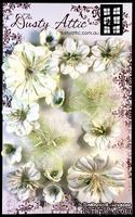 Набор цветочков от Dusty Attic - Dusty In Bloom Cornsilk, 14 шт. - ScrapUA.com