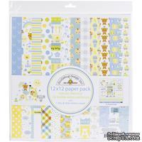 Набор бумаги для скрапбукинга от Doodlebug - Special Delivery, 30х30 см, 12+1 лист - ScrapUA.com