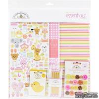 Набор бумаги и декора для скрапбукинга от Doodlebug - Bundle Of Joy, 30х30 см, 12+1 лист - ScrapUA.com