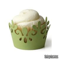 Лезвие Lifestyle Crafts - QuicKutz - Botanical cupcake liner