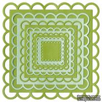 Лезвие Lifestyle Crafts - QuicKutz - Nesting lace squares