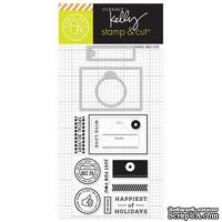 Набор ножей и штампов от Hero Arts -  Kelly's Open Me Stamp & Cut