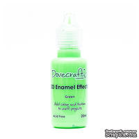 Жидкие эмалевые капли от Dovecraft - Green, 20 мл