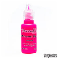 Жидкие эмалевые капли от Dovecraft - Neon Pink, 20 мл