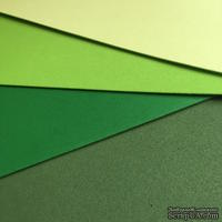 Вспененная резина декоративная от Dovecraft - Green Multiple Pack, A4, 4 листа