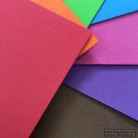 Вспененная резина декоративная от Dovecraft - Brights, A5, 8 листов разного цвета