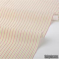 Хлопок от Dailylike - Strawberry: berry stripe