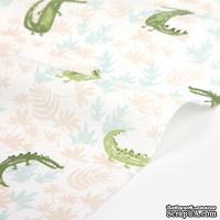 Хлопок от Dailylike - Crocodile: light