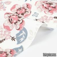 Оксфорд от Dailylike - Vintage flower: pink - ScrapUA.com