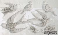 Молды от IOD - Birdsong 6x10 Decor Moulds™, 15x26 см