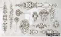 Молды от IOD - Lock & Key 6x10 Decor Moulds™, 15x26 см