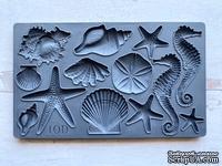Молды от IOD - Sea Shells 6x10 Decor Moulds™, 15x26 см - ScrapUA.com