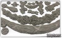 Молды от IOD - Swags 6x10 Decor Moulds, 15x26 см