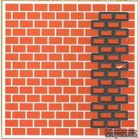 Лезвие Marianne Design - Embossing and die - Bricks, с эмбоссингом