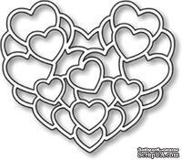 Нож от Impression Obsession - Layered Hearts