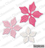 Ножи от Impression Obsession - Sm. Poinsettia Set