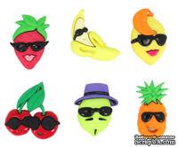 Набор декоративных пуговиц Dress It Up - Fruit Cocktail