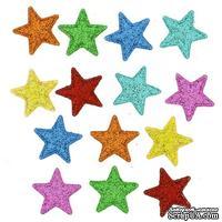 Набор декоративных пуговиц Dress It Up - Shimmer stars