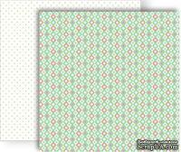 Лист скрапбумаги GCD Studios - Gum Drop - Sweet Tooth Collection - двусторонняя, 30х30 см