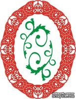 Лезвие Celtic Oval Frame от Cheery Lynn Designs