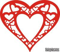 Лезвие Heart Within My Heart от Cheery Lynn Designs