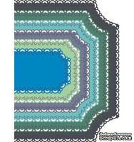 Лезвия Horizon Coved Rectangle от Cheery Lynn Designs